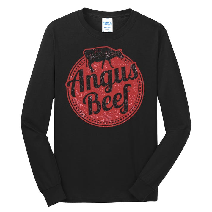 Angus Beef Long Sleeve Shirt