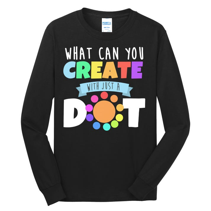 What Can You Create With Dots Long Sleeve Shirt