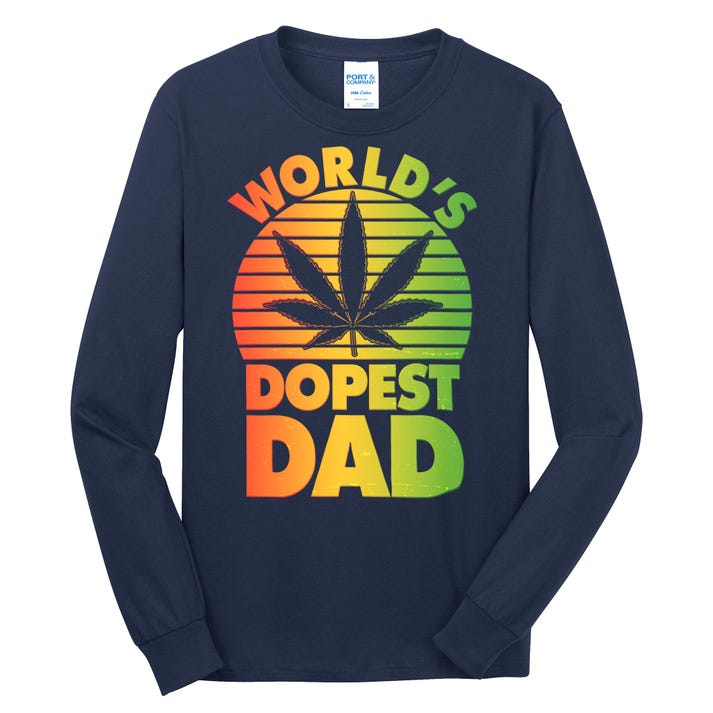World's Dopest Dad Long Sleeve Shirt